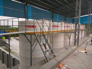 高纯石英砂快速酸洗反应设备 超白板材石英砂生产线配套反应罐