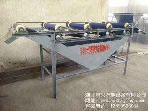 厂家供应17000GS石英砂干式强磁滚筒磁选机 永磁自卸式除铁器